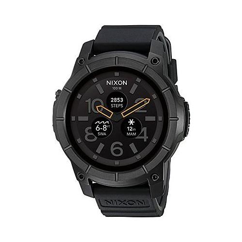 Nixon Mission Smartwatch- black