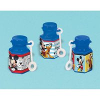 Mickey Mouse 'On the Go' Mini Bubbles / Favors (12ct)