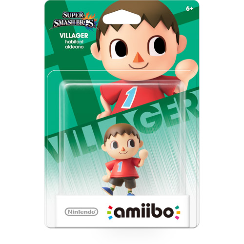 Villager Super Smash Bros Series Amiibo (Nintendo Wii U or 3DS) by Nintendo