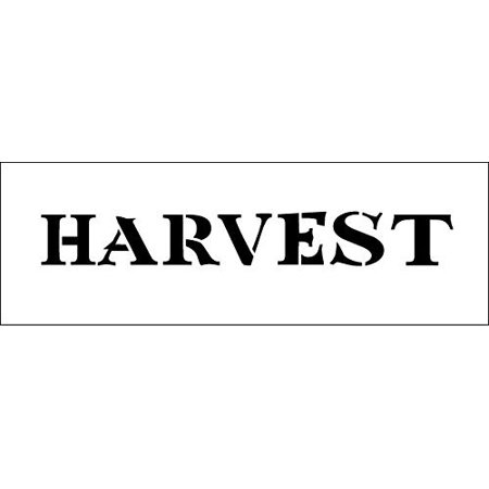 Word Stencil - Tuscan Harvest Banner](Banner World)