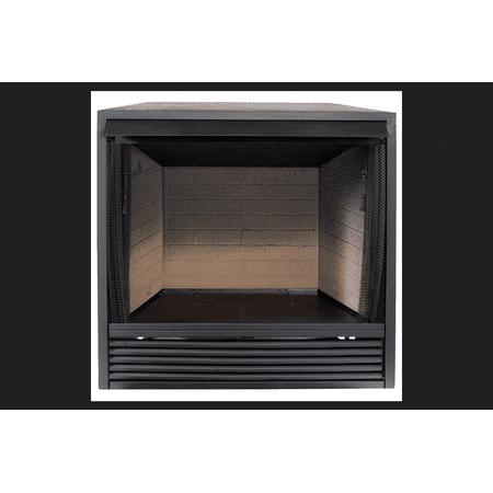 Procom Vent Free Firebox 33.23 in. x 36.38 in. x 18.51 in. Fiber Brick -