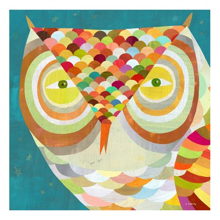 Oopsy Daisy All Seeing Owl Canvas Art