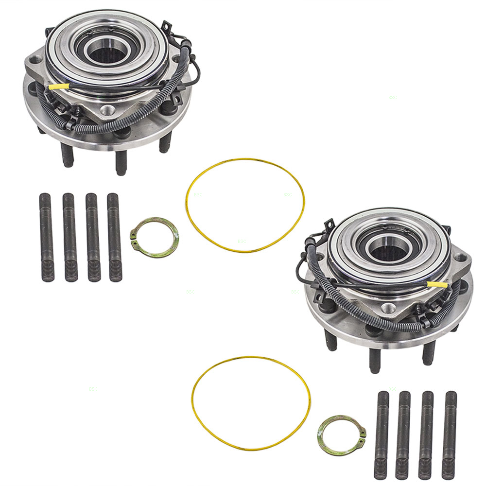 Pair of Front Wheel Hub Bearings Replacement for Ford Pickup Truck AC3Z1104F
