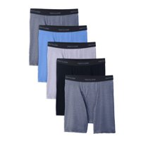 Deals on 5 Pack Fruit of the Loom Mens Beyondsoft Boxer Briefs