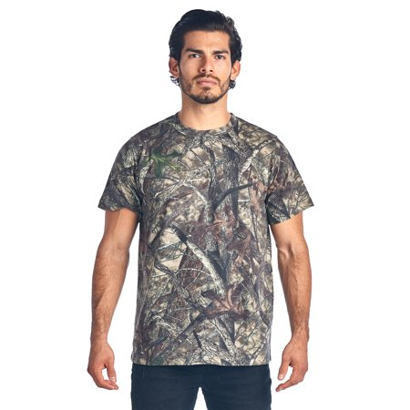 Camo Hunting Short Sleeve T-Shirt Camouflage Authentic True Timber