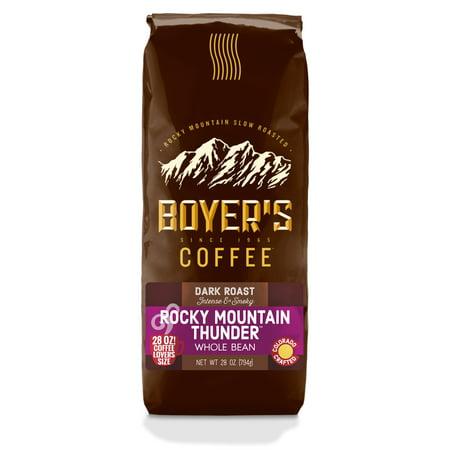 Boyers Rocky Mountain Thunder Whole Bean Coffee, 28oz Bag
