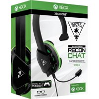 Turtle Beach Recon Chat Headset for Xbox One and Xbox Series X, PS4, PC, Mobile (Black)