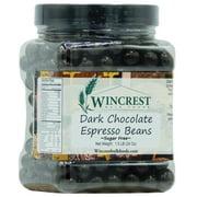 Sugar Free Dark Chocolate Espresso Beans - 1.5 Lb Tub