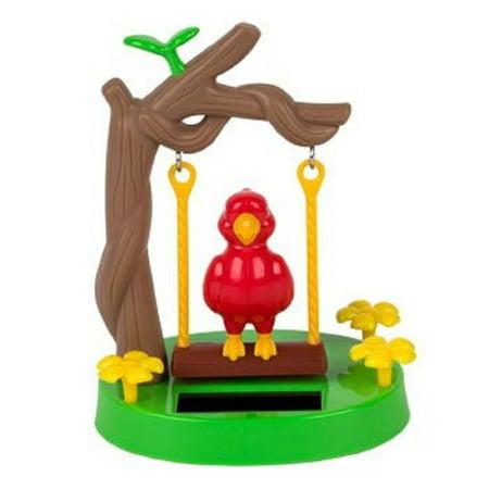 Solar Powered Swinging Parrot  Solar Powered Swinging Parrot By Dollar Tree