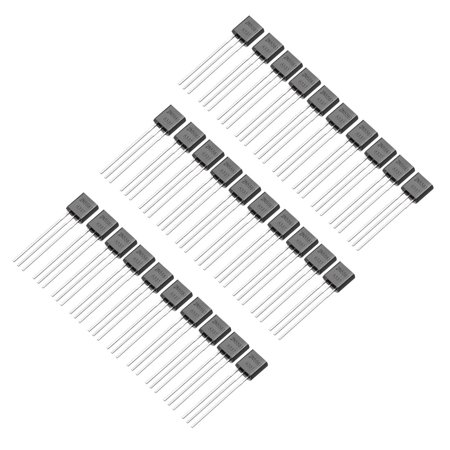 30pcs Plastic-Encapsulate Power TO-92 Transistor NPN 160V 600mA 625mW
