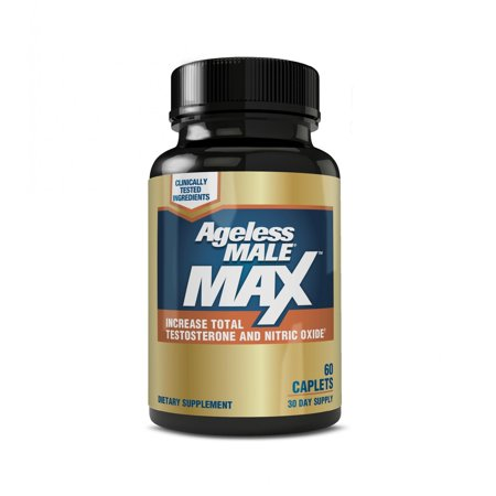 Male Enhancement Fda (Ageless Male Max Total Testosterone & Nitric Oxide Booster, Capsules, 60)
