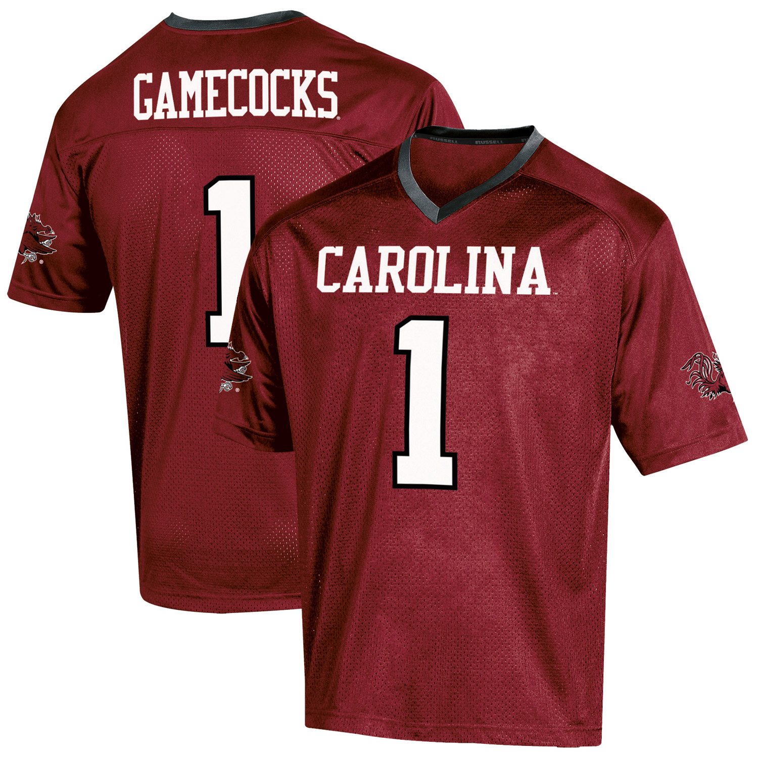 Youth Russell Garnet South Carolina Gamecocks Replica Football Jersey