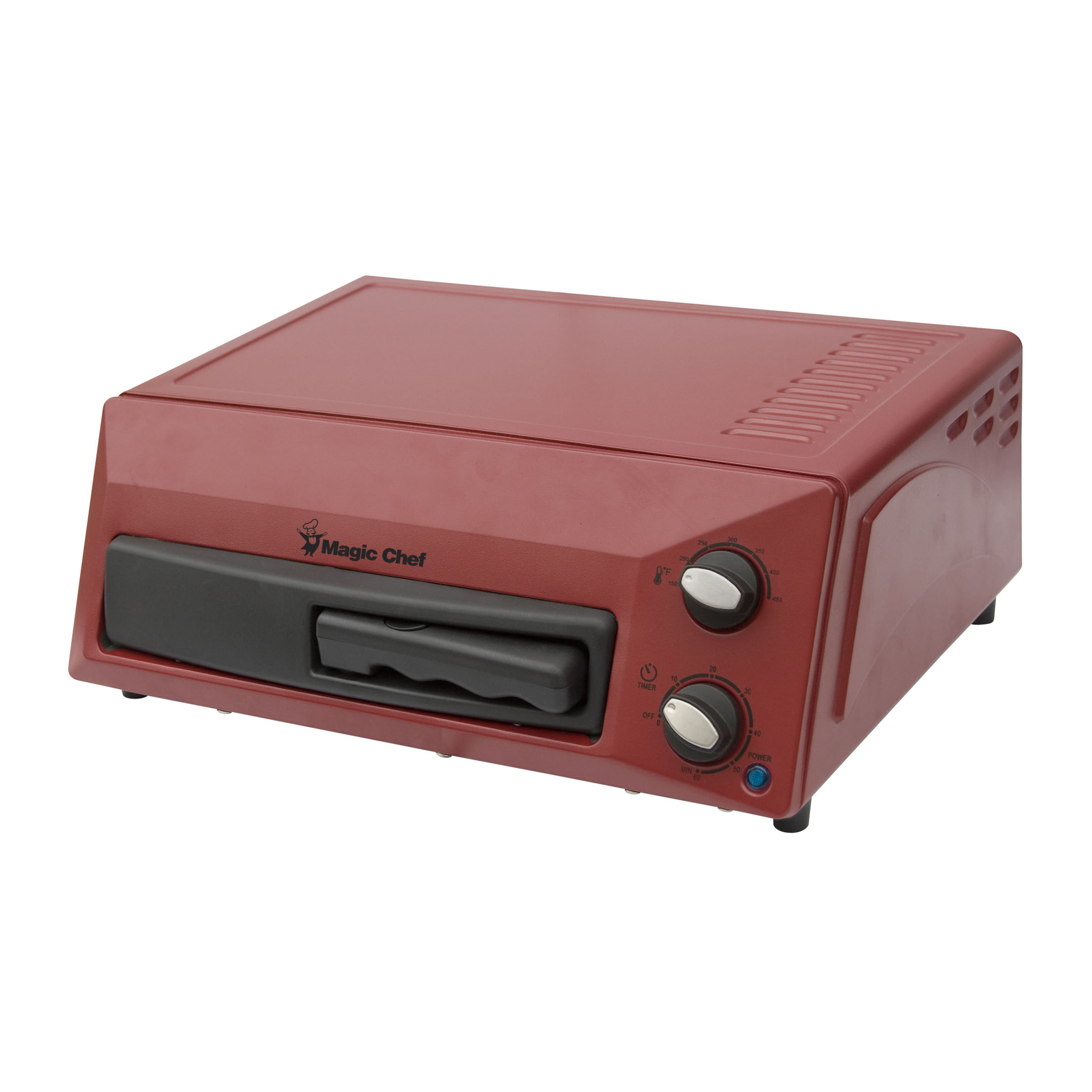 Magic Chef Countertop Pizza Oven in Red