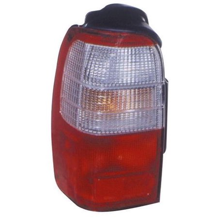 Go-Parts » 1996 - 1997 Toyota 4Runner Rear Tail Light Lamp Assembly / Lens / Cover - Left (Driver) Side 81560-35120 TO2800122 Replacement For Toyota 4Runner ()