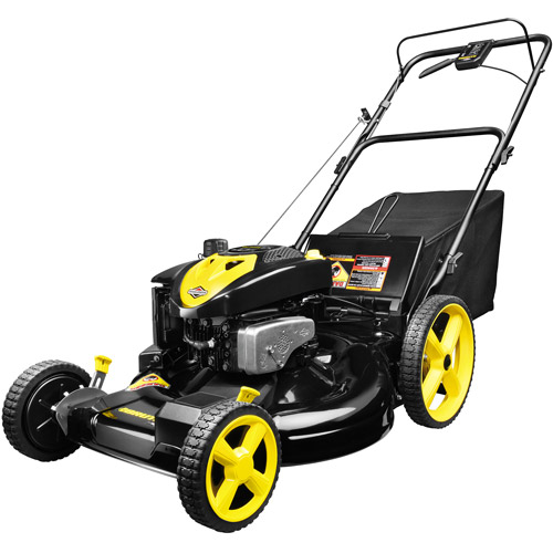 "Brute 22"" Mulch/Bag/Side Discharge Front Wheel Drive Gas-Powered Lawn Mower"