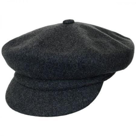 Jaxon Hats - Wool Spitfire Cap - M - Dark Flannel - Walmart.com 5dba001a5f3