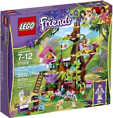 LEGO Friends Jungle Tree House Exclusive Set #41059 - Walmart.com