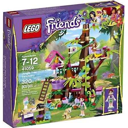 LEGO Friends Jungle Tree House Exclusive Set #41059 - Jungle Tree House