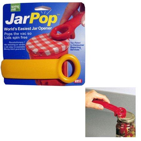 Jar Pop Jar Opener Jarpop Jarkey Vacuum Breaker Key Rim Lid Lifter Top Denmark !