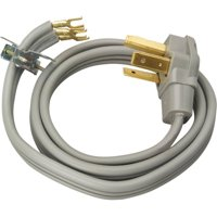 Coleman Cable 30-Amp 3-Wire Dryer Power Cord, 4-Foot