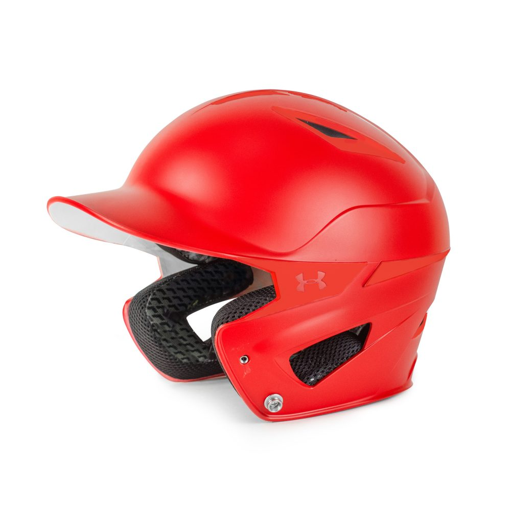 Under Armour Adult Solid Converge Batting Helmet UABH2-150 Scarlet