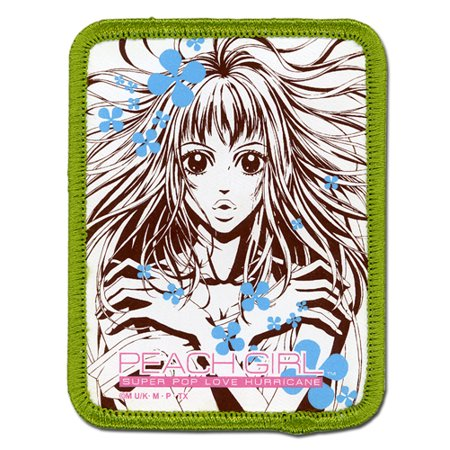 Patch   Peach Girl   New Momo Close Up Iron On Anime Licensed Ge7252