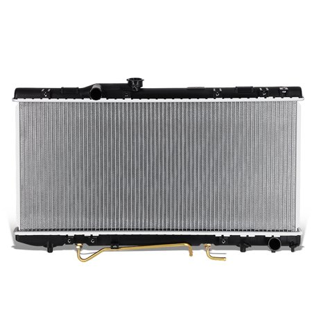1984 Toyota Pickup Radiator (For 1990 to 1993 toyota Celica GT / GTS All Trac AT OE Style Aluminum Core Cooling Radiator DPI 1174 91 92)