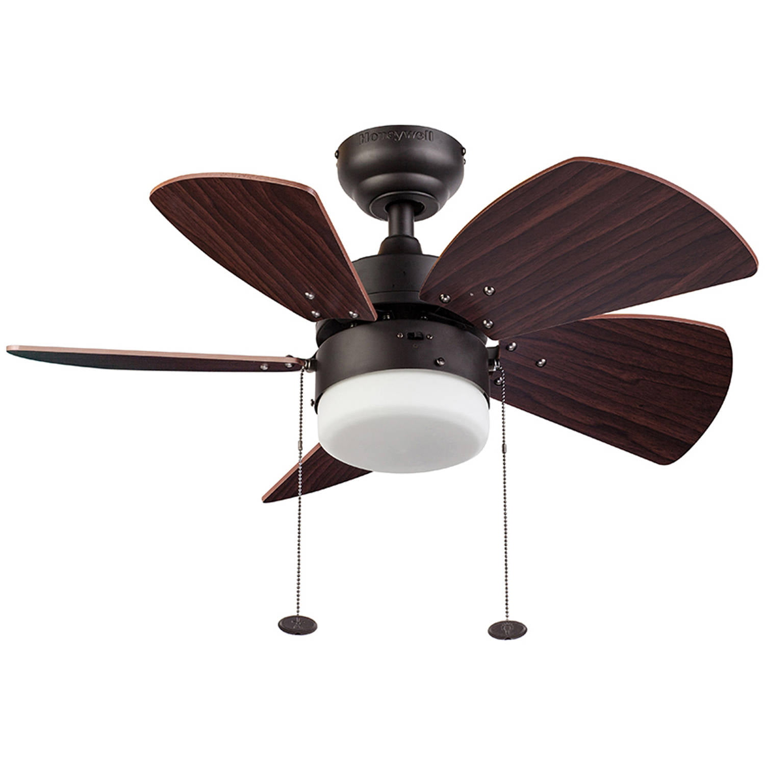 "30"" Honeywell Lenox Ceiling Fan, Bronze by HKC"