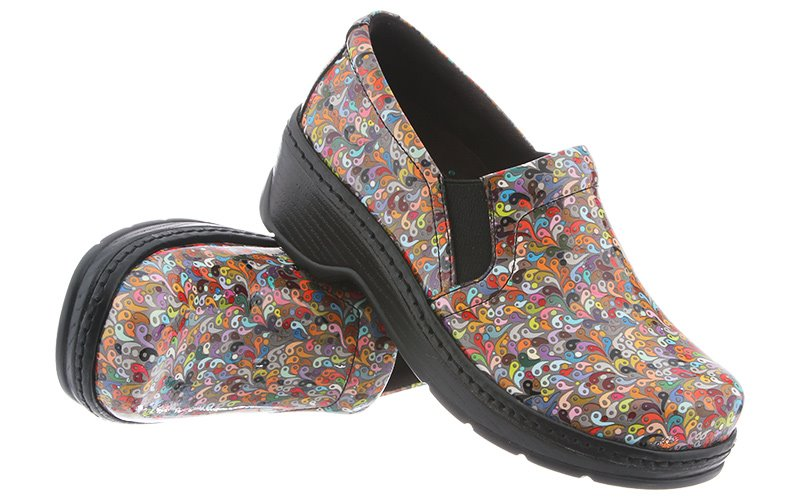 Klogs Naples Mens Womens Clogs Geo Paisley by Klogs