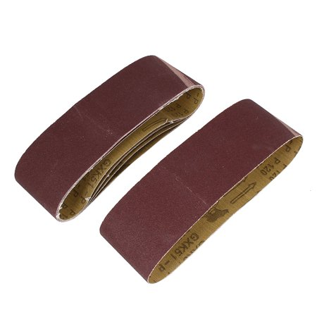 Woodworking 533mmx75mm 120 Grit Abrasive Sanding Belt Sandpaper