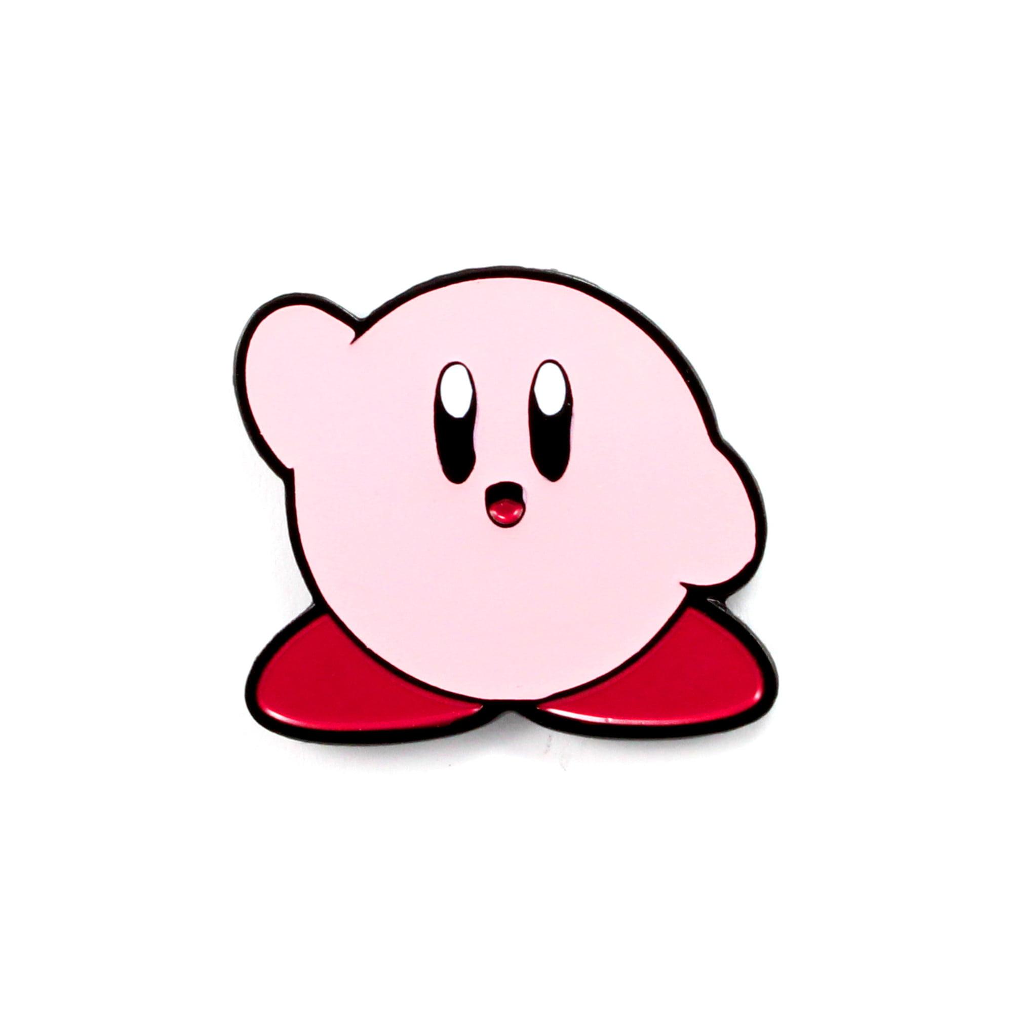 Cool Pins Cute Kirby Pin Nerdy Video Game Art Enamel Hat Pin Walmart Com Walmart Com