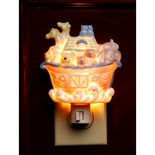 Cosmos Gifts Noah's Ark Plug-In Night Light
