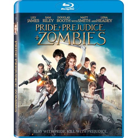 Pride And Prejudice And Zombies  Blu Ray