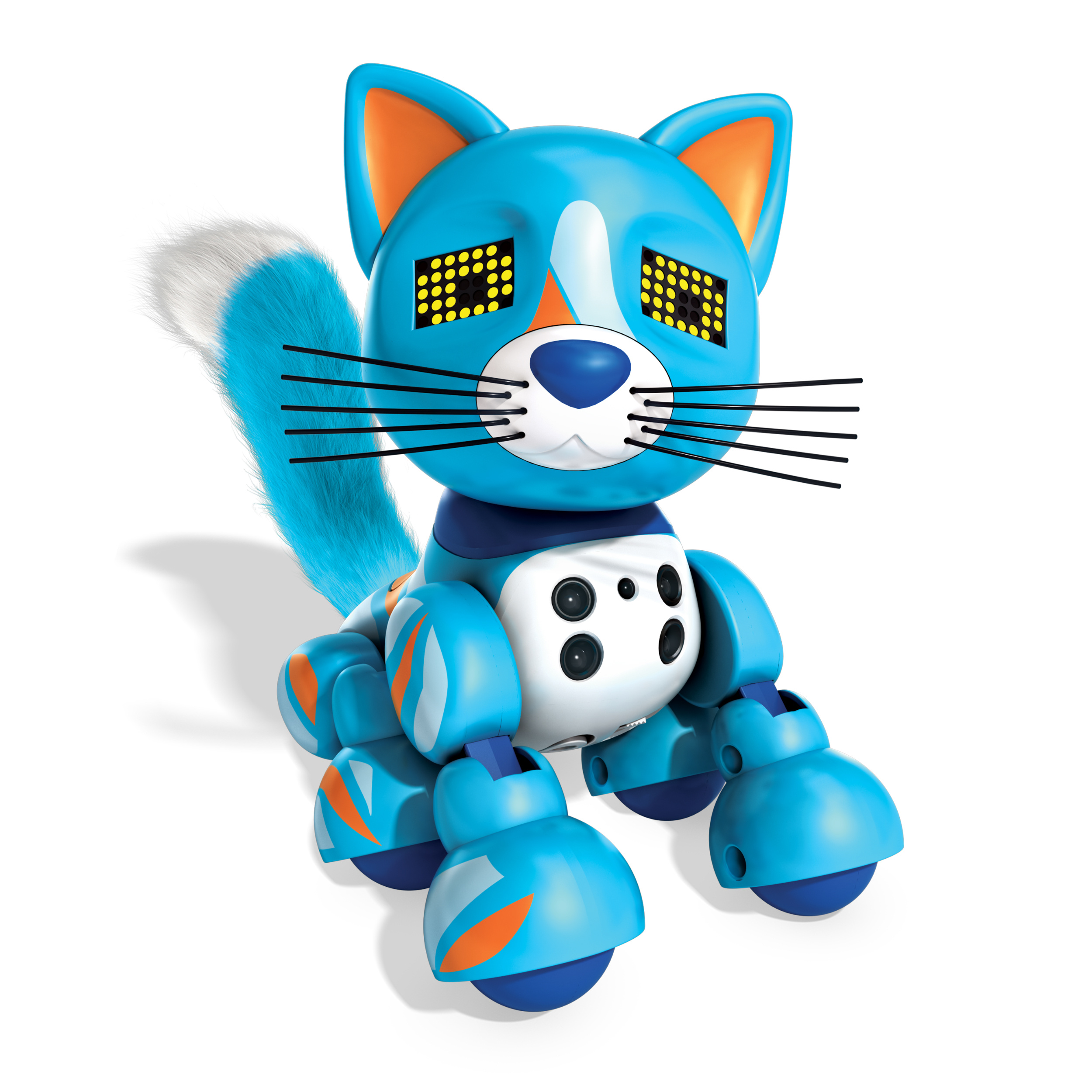 Zoomer Meowzies, Patches, Interactive Kitten with Lights, Sounds and Sensors, by Spin Master