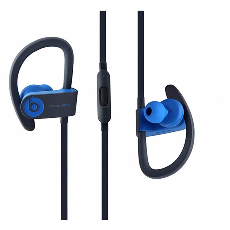 Beats Powerbeats3 Series Wireless Ear-Hook Headphones - Flash Blue (MNLX2LL/A) (Refurbished)