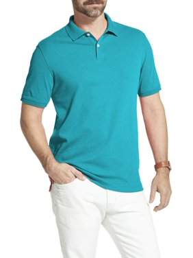 ea8727d3 Product Image Men's Arrow Interlock Heathered Polo Shirt