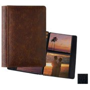 Raika RO 157 BLK 5inch x 5inch Two-High Photo Album - Black
