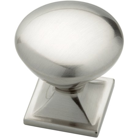 0.375 Square Knob - Liberty 32mm Round Knob with Square Base, Available in Multiple Colors