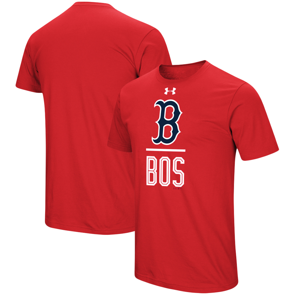Boston Red Sox Under Armour Performance Slash T-Shirt - Red