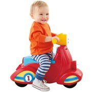 Fisher-Price Laugh & Learn Smart Stages Scooter, Red