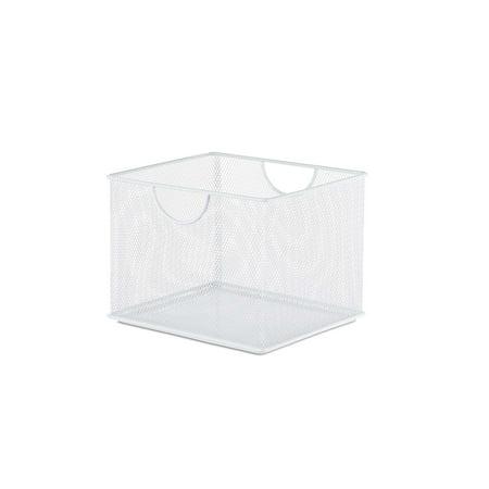 Design Ideas Mesh Stacking Bin, 8x7in, - Home Office Storage Ideas
