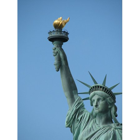 Statue Of Liberty View From Torch (LAMINATED POSTER Freedom New York Statue Liberty Lady Torch Poster Print 24 x)