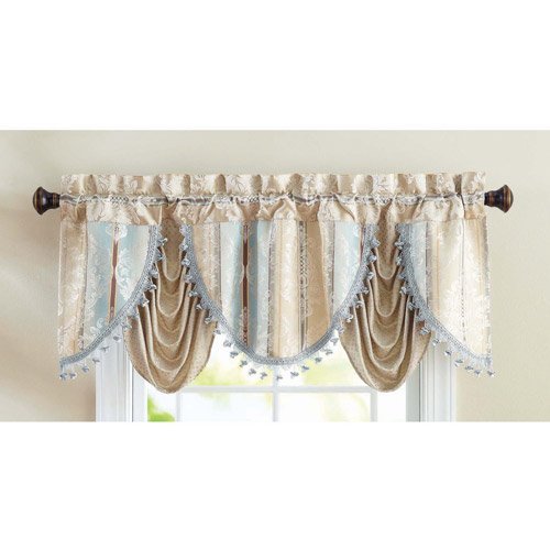 Better Homes and Gardens Formal Swag Valance