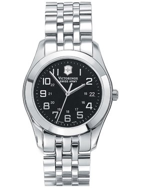 Victorinox Swiss Army Alliance Stainless Steel Black Dial Date Men's Watch 24657