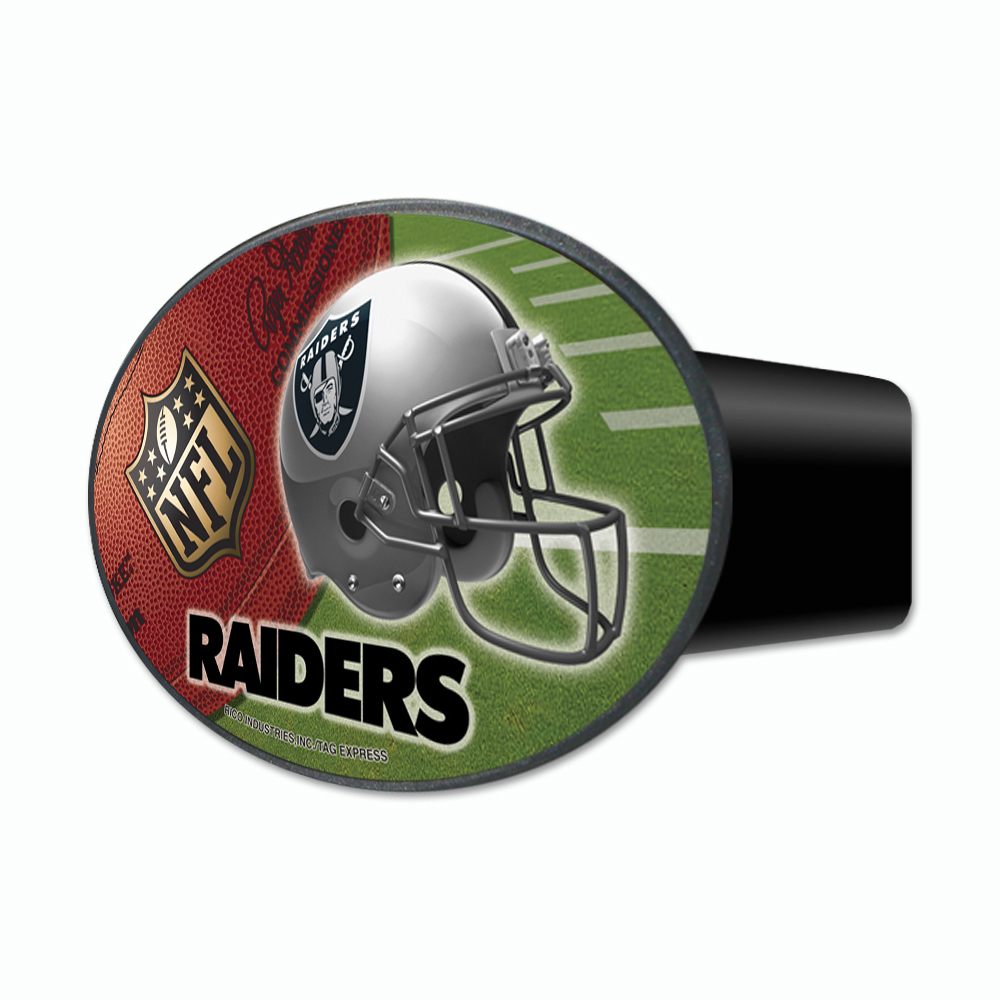 Oakland Raiders NFL 3-In-1 Hitch Cover Auto Emblem