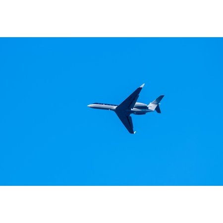 Peel-n-Stick Poster of Private Jet Utair Aviation Sky Plane Utair Poster 24x16 Adhesive Sticker Poster - Private Plane