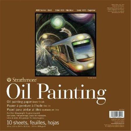 Alvin ST430-309 9 x 12 in. 400 Series Oil Painting Pad - image 1 de 1