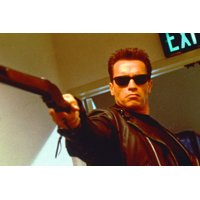Arnold Schwarzenegger Terminator 2 Gun 24x36 Poster