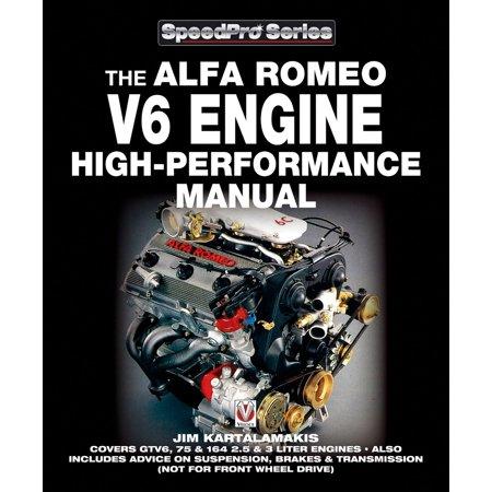 Alfa Romeo V6 Engine High-performance Manual -