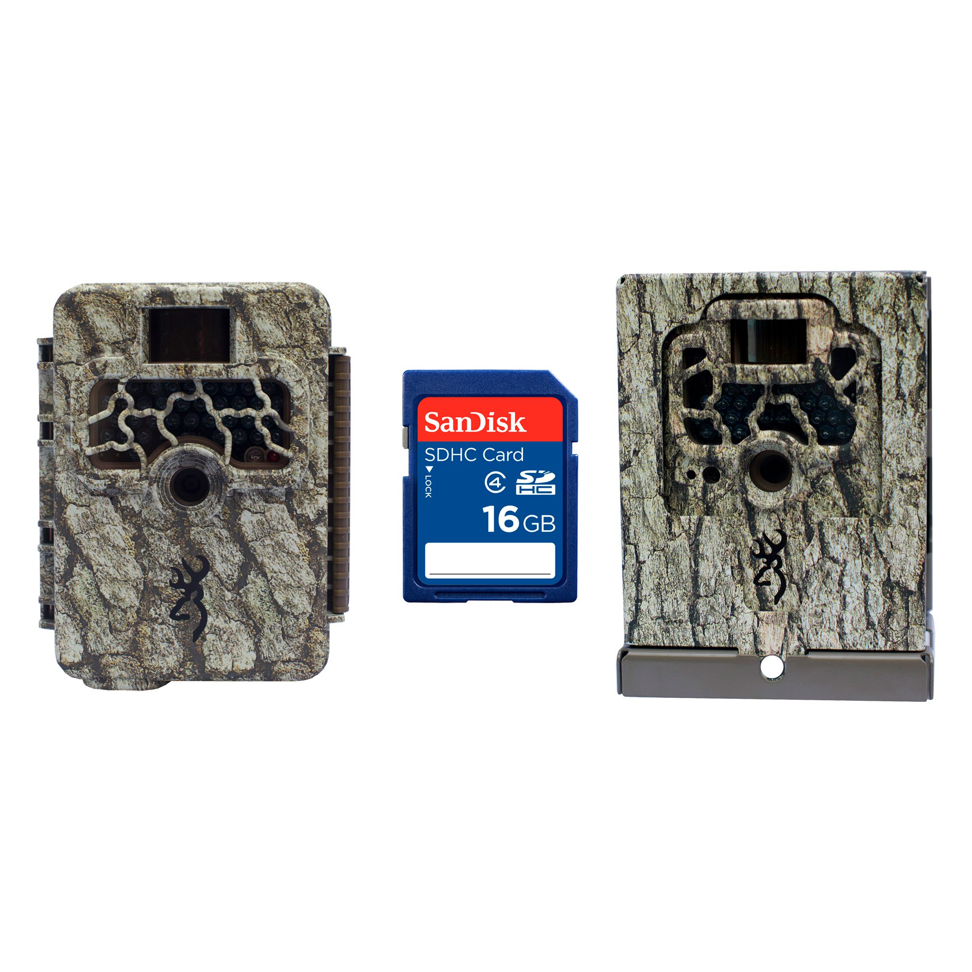 Browning Trail Cameras Command Ops 14MP HD Game Camera + Security Box + SD Card by Browning Trail Cameras
